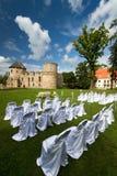 Hochzeitszeremonieplätze Stockfotografie
