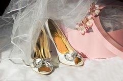 Hochzeitszubehör Stockfoto