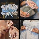 Hochzeitszubehör, Braut Lizenzfreies Stockfoto