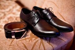 Hochzeitszubehör für Bräutigam Lizenzfreie Stockfotos