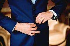 Hochzeitszubehör für Bräutigam Stockbild