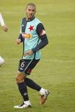 Hocine Rague - SK Slavia Prague Stock Image