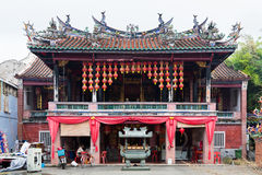 Hock Teik Cheng Sin temple in Hong Kong Royalty Free Stock Image