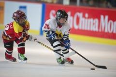 hockey 3 2010 5s Arkivfoton