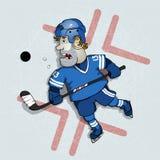 hockey Ilustración del Vector