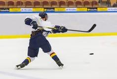 hockey Fotografie Stock Libere da Diritti