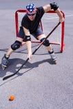 Hockey #5 de la calle Imagenes de archivo