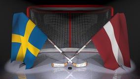 hockey Royalty-vrije Stock Foto's