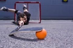 Hockey #7 de la calle Fotos de archivo