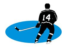 hockey Image stock