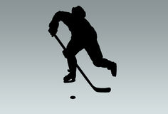 Hockey player Royalty Free Stock Photo