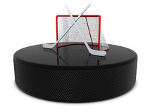 Hockey abstract Royalty Free Stock Photography