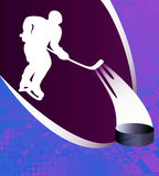 Hockey  abstract background. Stock Photography