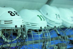 Hockey accessories Stock Images