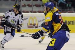 Hockey action Stock Photography