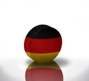 Hockey allemand Images stock