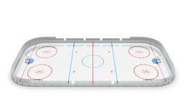 Hockey arena Royalty Free Stock Photography