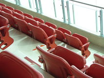 Hockey arena seating Royalty Free Stock Photos