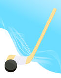 Hockey background Stock Image