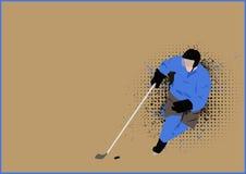 Hockey background Royalty Free Stock Photos