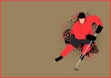 Hockey background Royalty Free Stock Images