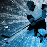 Hockey background Stock Images