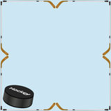 Hockey background card royalty free stock photo