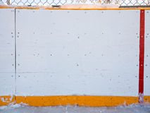 Hockey boards Stock Photography