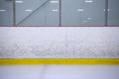 Hockey boards royalty free stock photo