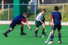 Hockey Boys Play Royalty Free Stock Photography