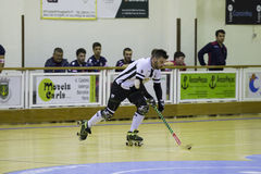 Hockey competition. Royalty Free Stock Images