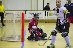 Hockey competition. Stock Image