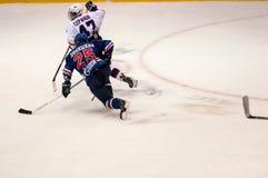 Hockey con el duende malicioso, Fotos de archivo