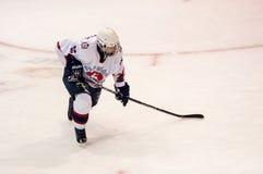Hockey con el duende malicioso, Fotografía de archivo libre de regalías