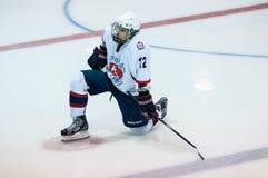 Hockey con el duende malicioso Fotografía de archivo libre de regalías