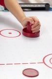 Hockey d'air Photographie stock libre de droits