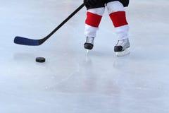 Hockey de la charca Imagenes de archivo