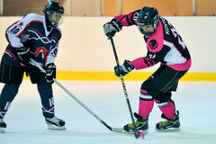 Hockey del ` s de las mujeres imágenes de archivo libres de regalías