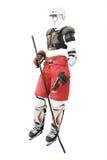 Hockey del vestiario di protezione illustrazione di stock