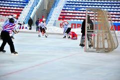 Hockey della palla Immagine Stock