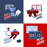 Hockey Design Concept Royalty Free Stock Image