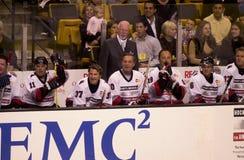 Hockey Don Cherry Fotografía de archivo libre de regalías