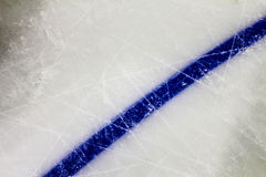 Hockey en ijs Stock Foto