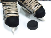 Hockey equipment Stock Photos