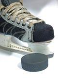Hockey equipment Royalty Free Stock Photo