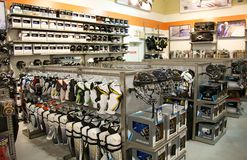 Hockey equipment Stock Images