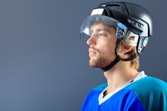 Hockey equipment Royalty Free Stock Photography