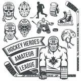 Hockey equipment Stock Photos
