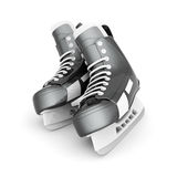 Hockey equipment stock illustration