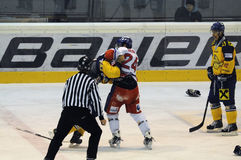 Hockey fight Royalty Free Stock Photography